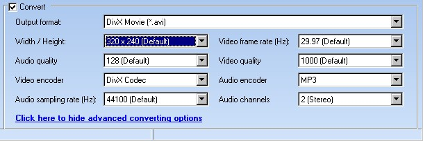 Convert YouTube Video To QuickTime, DVD, VCD, SVCD, MP3, WAV
