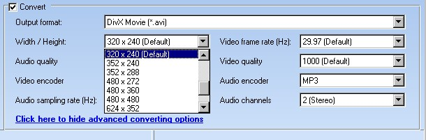 Convert YouTube Video To MPEG1, MPEG2, H.264, FLV, RealVideo, iRiver Clix, AppleTV