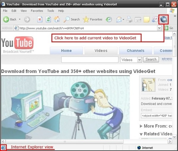 Videoget download youtube videos how to download youtube videos using videoget ripdownload youtube videos grab youtube videos in mozilla firefox ccuart